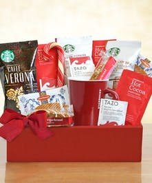Starbucks Christmas Gift Box Columbus Ohio Griffins