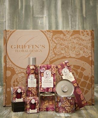 Tuscan Vineyard Aroma Gift Set