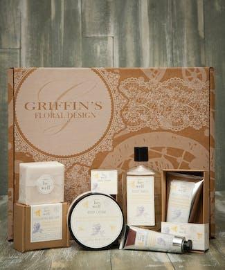 Lavender Infused Honey Spa Set