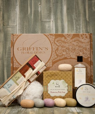 Deluxe Simply Be Well  Combo Soap & Lotion Gift Set