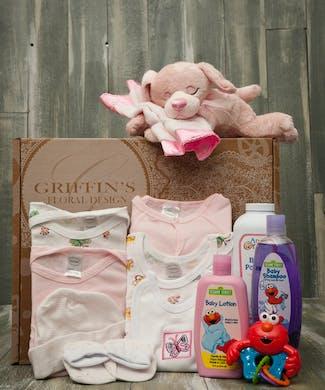Baby Girl 7 Piece Gift Set