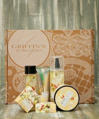 Vanilla Orchid Spa Set