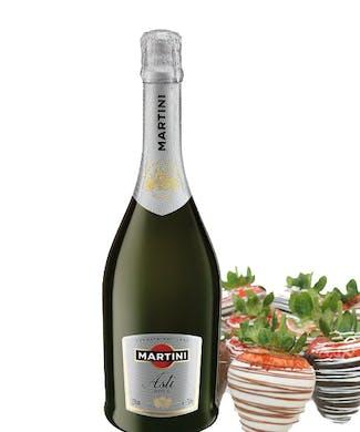 Asti Champagne & Strawberries