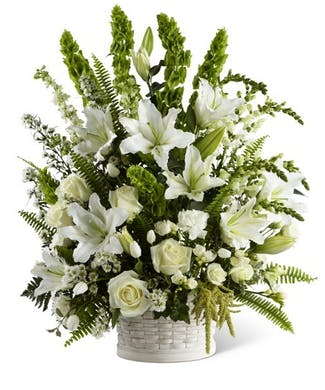 Sorrow Basket Bouquet